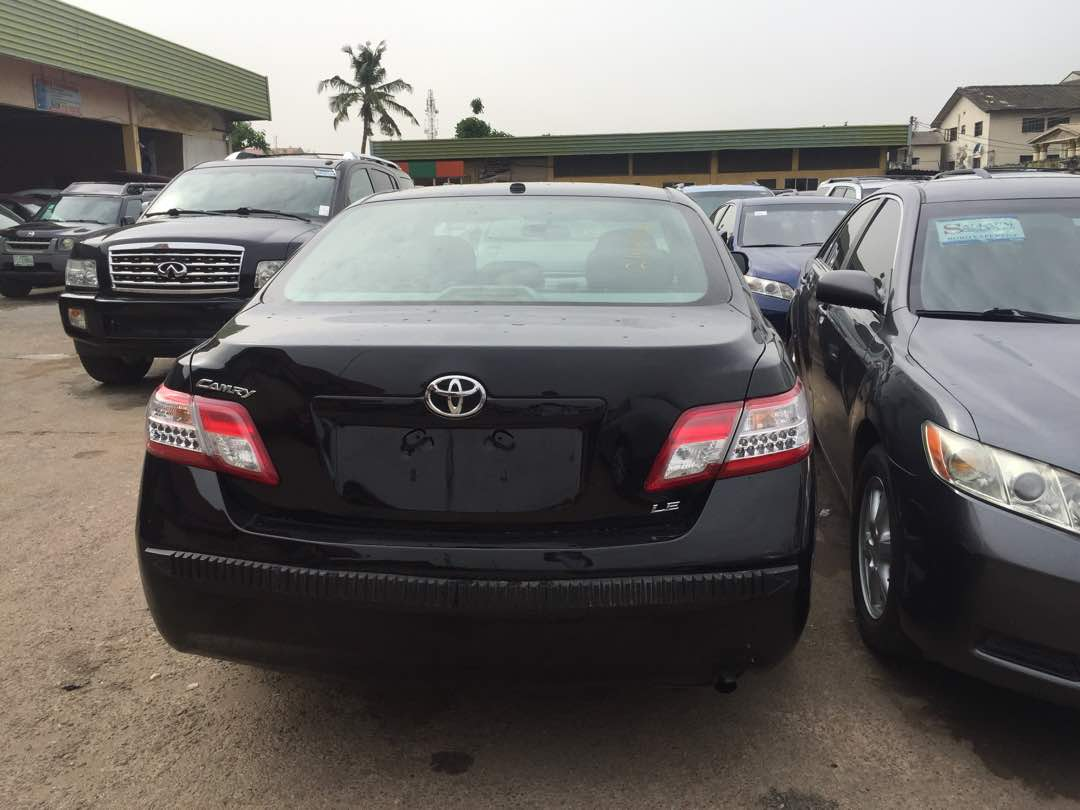 Super Clean Toyota Camry Le 2011 Leather Interior For Just N28m Contact Me On 08022624979 Re