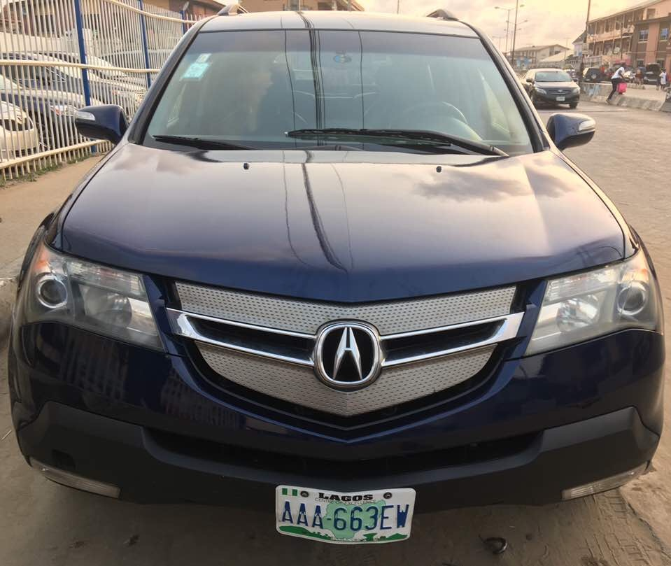 Acura Mdx 2008 Fulloption Used... 2.65m