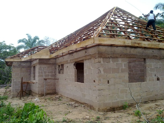 Reality Building Of A 4 Bedroom Bungalow