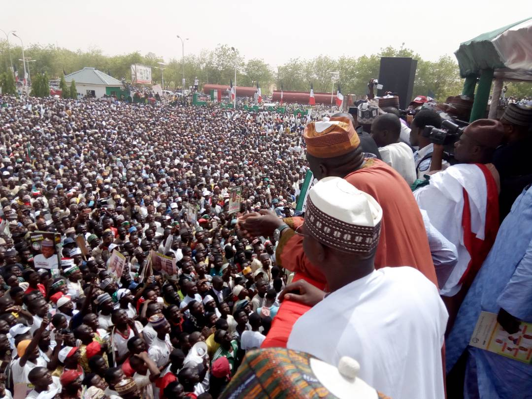 pdp mega rally today in kastina state