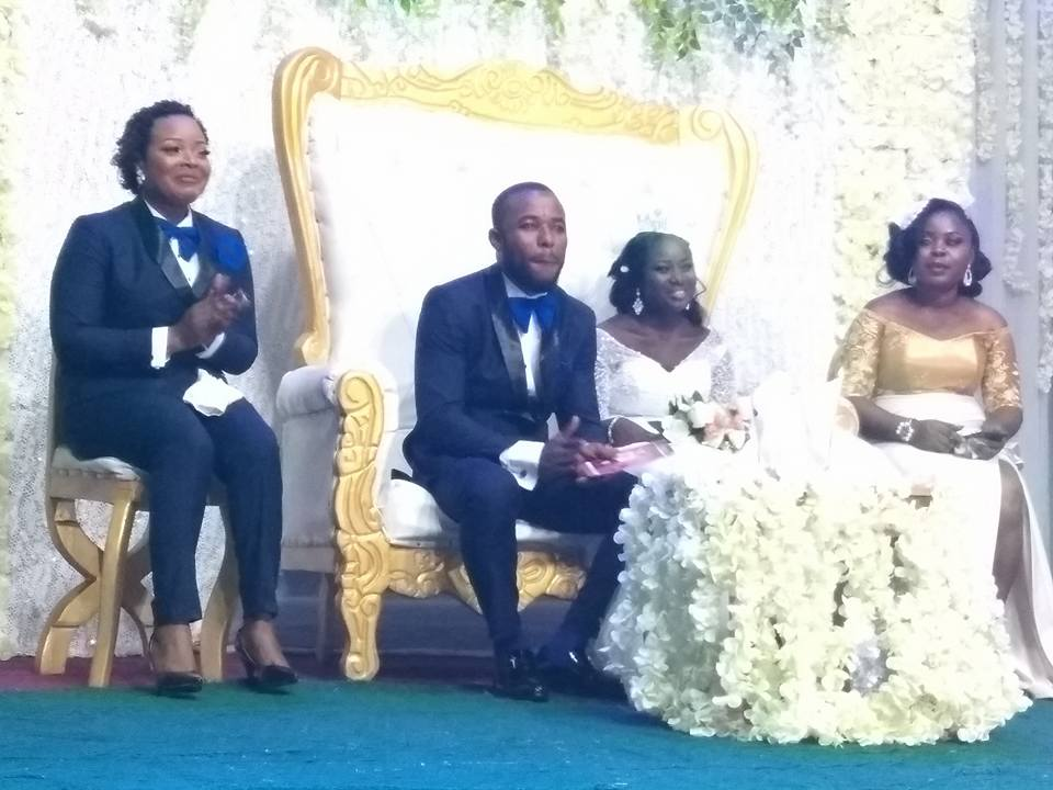 Lady Serves As Best Man At A Wedding Ceremony In Bayelsa State (Photos)