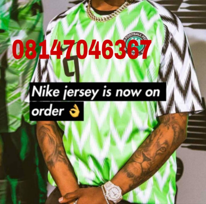 9dc8523d45b Nigerian latest Jersey now available and it's very dope with nice quality  contact me if you interested location @Lagos Waybill @Port Harcourt,  ibandan,Kano ...