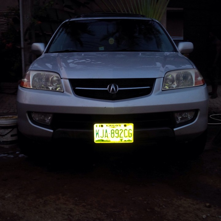 Less Than 5months Barely Used 2001/02 Acura MDX @1.35m Net