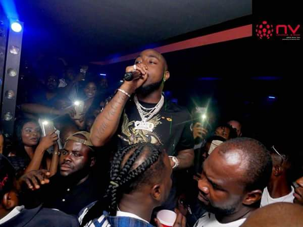 Nollywood Stars Storm Birthday Party In Owerri Hotel, As Davido Performs (Pics)