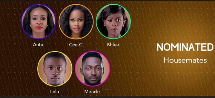 BBNaija: Housemates That Are Up For The Final Eviction