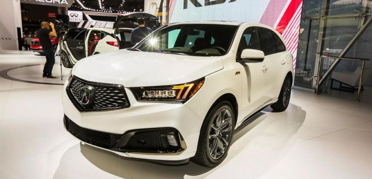 2019 acura mdx a-spec debuts at 2018 new york auto show - autos