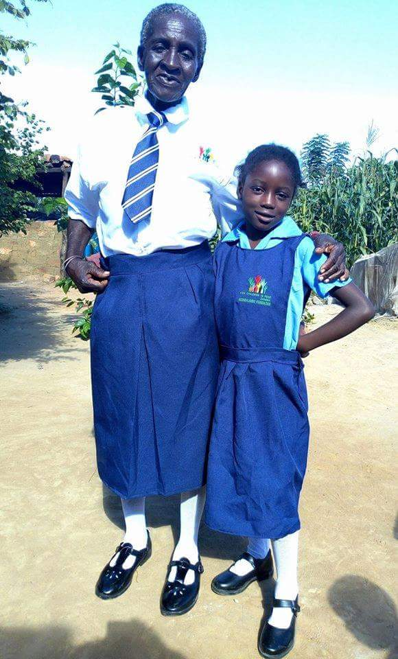 Incredible As 74-Year-Old Zambian Woman Starts Primary School