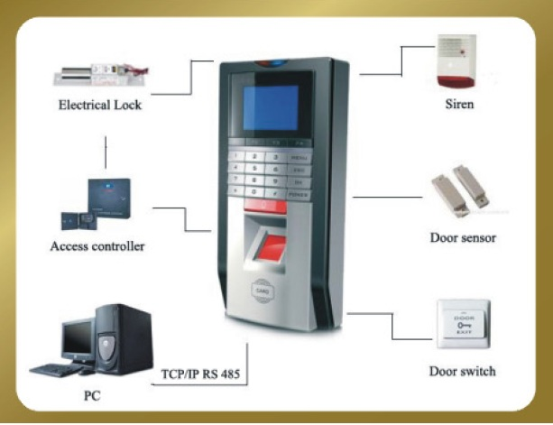 Employee Fingerprint Time Attendance System Technology