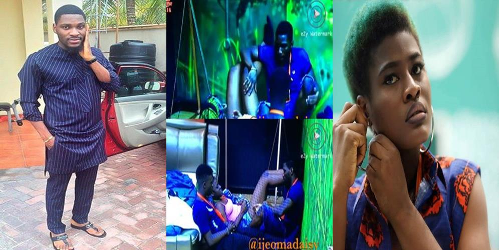 #BBNaija: Tobi Gifts Alex The Gold Bracelet His Father Gave Him (Video)