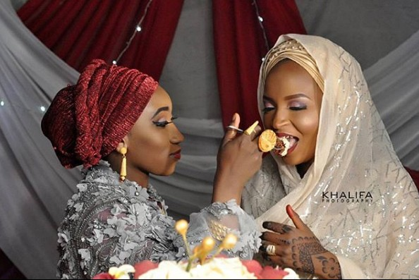 'Iron Lady' Allows Her Hubby To Marry 2nd Wife, Even Feeds Her At Their Wedding (Pic)
