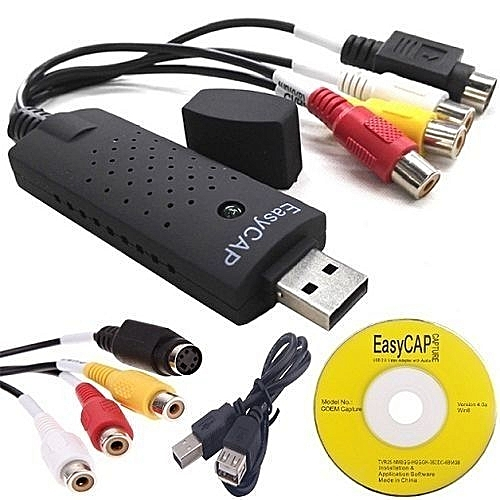 Can Easycap Tv Card Be Used To Watch Gotv On Pc? - Computers