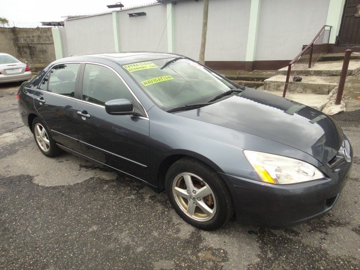 2004 honda accord ex l navigation 4 cylinder pre ordered by akyns of nairaland in 2012. Black Bedroom Furniture Sets. Home Design Ideas