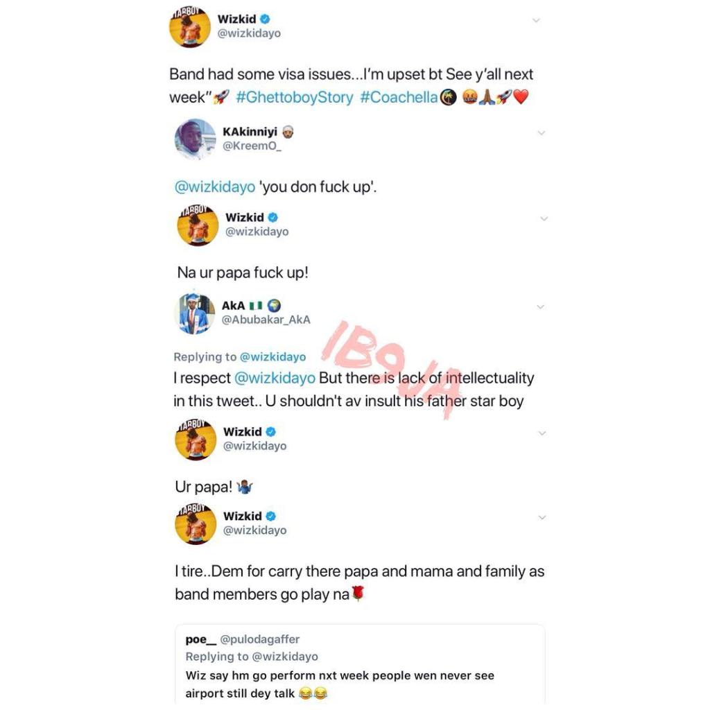 Wizkid Insults All Unhappy Fans – See His Tweets - Celebrities ...