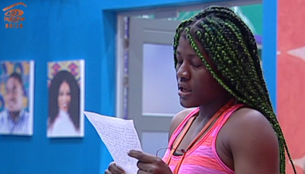 BBNaija: I Write With Tears In My Eyes – Alex Apologizes To CeeC In Front Of Others