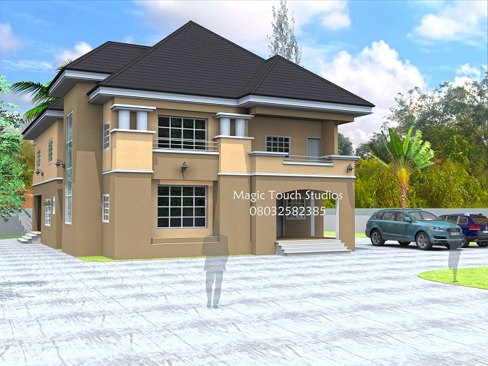 Architectural designs for nairalanders who want to build for 6 bedroom duplex house plans