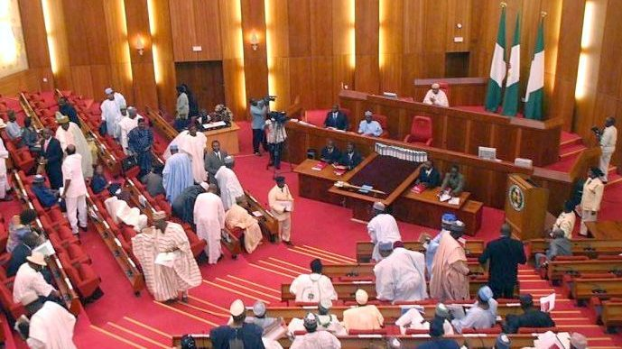 The Mace Stolen from the Nigerian Senate Chamber