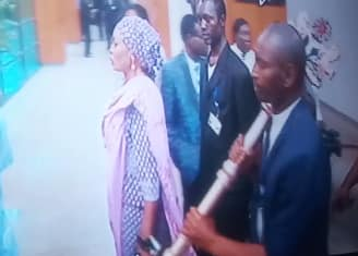 Photos Of The Stolen Mace Being Returned To The National Assembly By Police