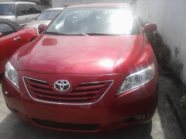 2008 toyota camry xle red riding hood 3m d autos nigeria. Black Bedroom Furniture Sets. Home Design Ideas