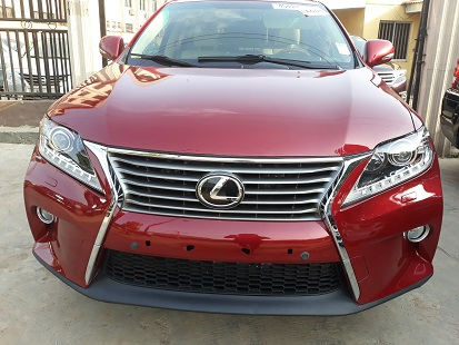 As E Dey Hot Tokunbo Lexus Rx 350 2010 Wine Colour 11 5m