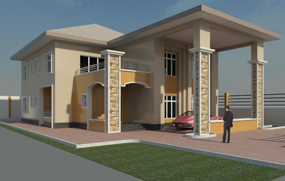 Affordable architectural design building construction for for Nigeria building plans and designs