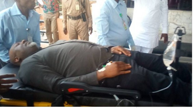 Senator Dino Melaye In Trouble As Police Arrest Doctor Treating Him
