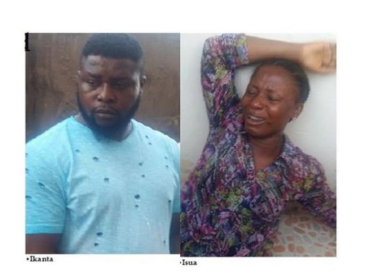 Lady Arrested For Videoing Her 3-Year-Old Twin Sons Engaging In Gay Act In Lagos