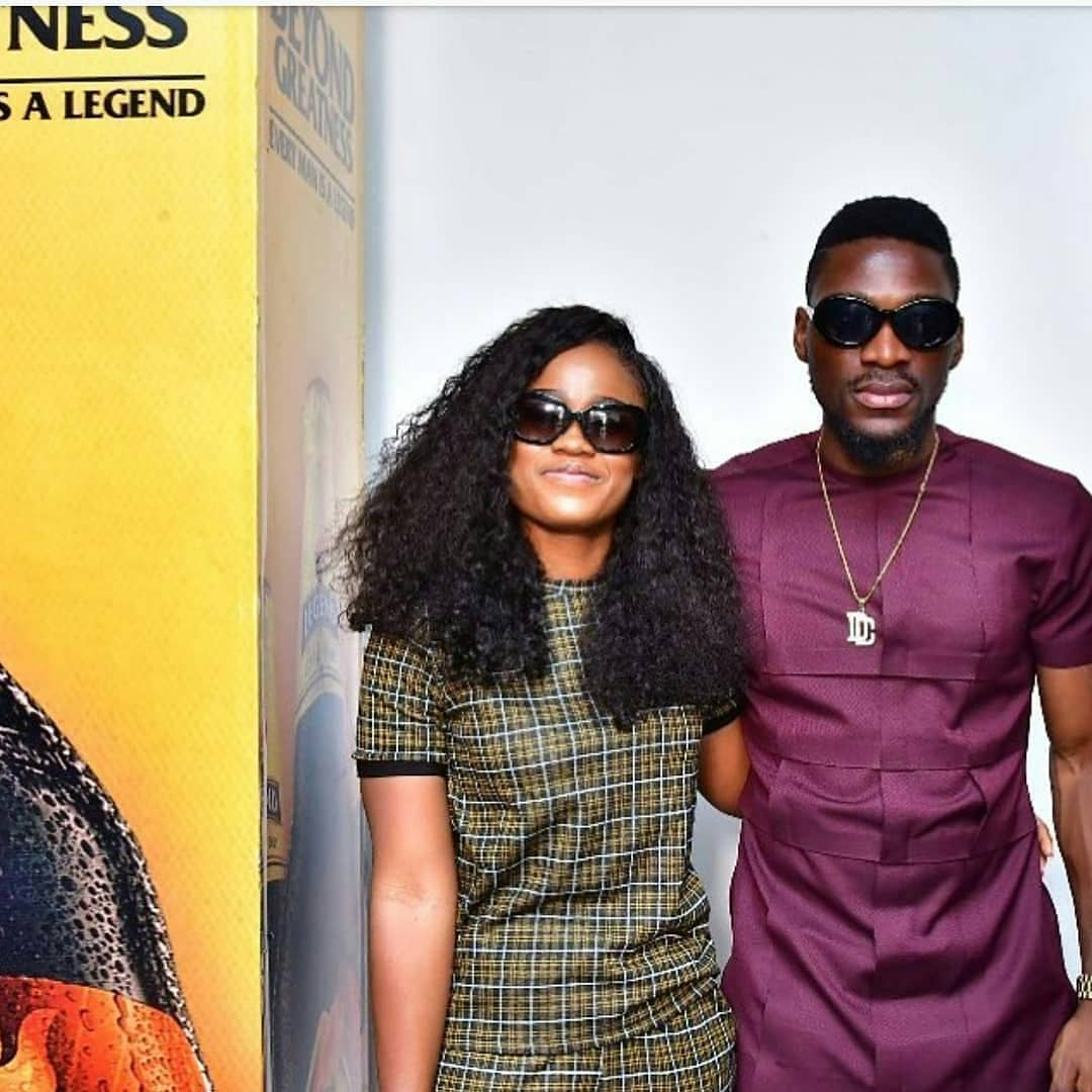 Tobi And CeeC Pose Together (Photo)