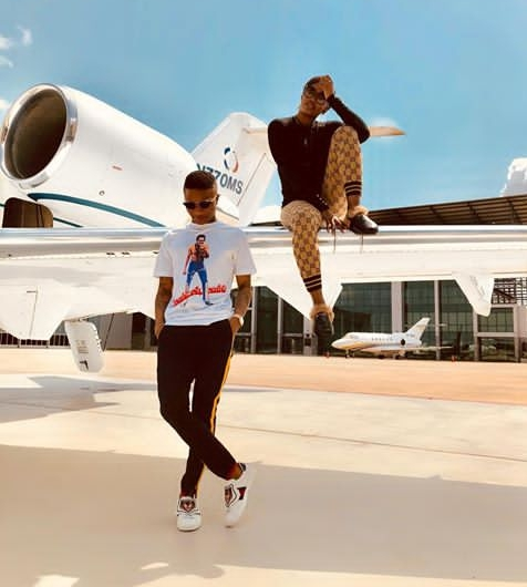 Fans Go Gaga For Wizkid And Tiwa Savage's New Photos