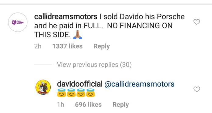 Davido rejects N60m deal allegedly offered Chioma