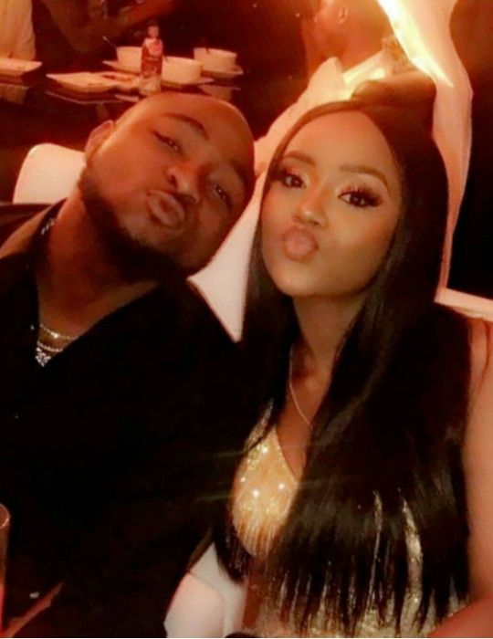 LORD!!!: Davido's  Chioma Replies Lady Who Said She Would Have A Painful Marraige With Davido
