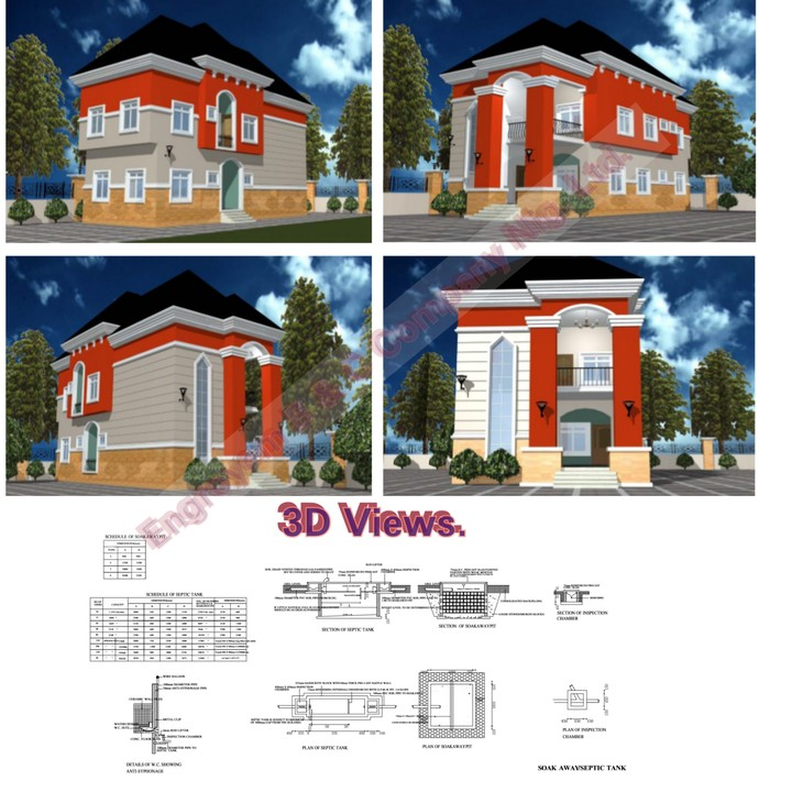 Various Drawings Needed For Building Approval In Nigeria