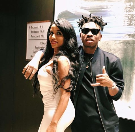 """Is This Your Own Chioma?"": Fans React As Mayorkun Shows Off His Cute US Tour Manager"