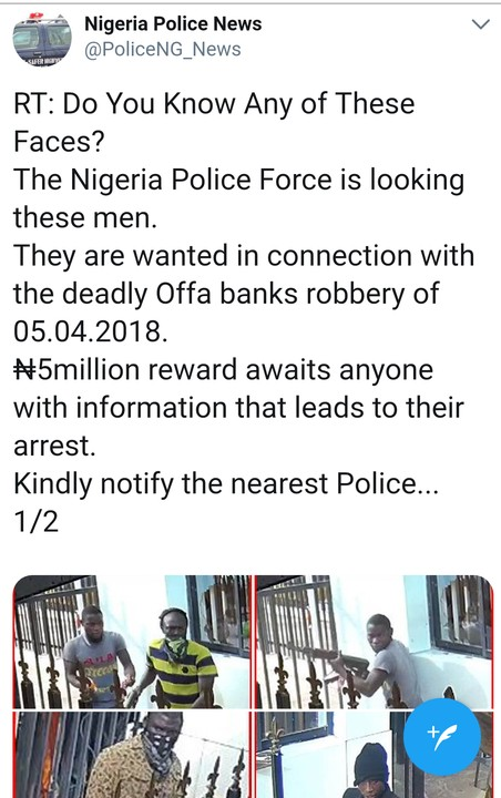 Faces Of Armed Robbers In Offa Bloody Operation Revealed (Photos) |