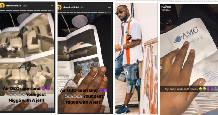 Check Out The Cost Of Davido's Yet-To-Arrive Private Jet