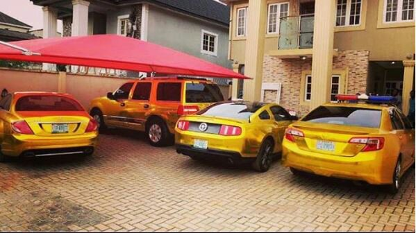 Image result for kcee gold cars in is compound