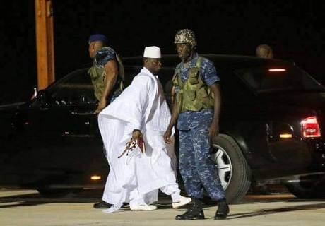 {filename}-Gambia Sells Yahya Jammeh's Cars, Planes To Pay Off Debt