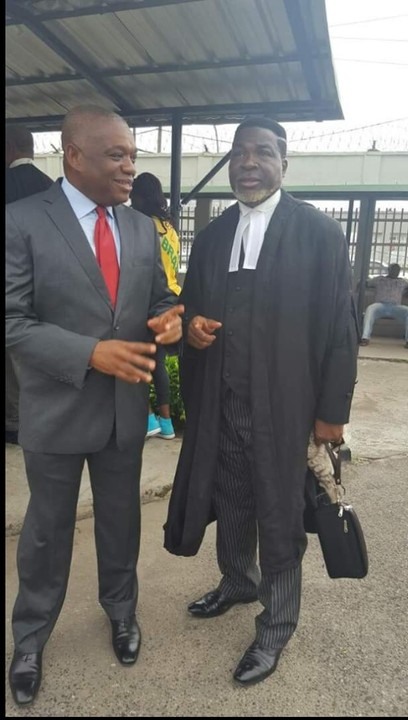 Orji Uzor Kalu Appears In Court For The Continuation Of His Trial (Photos)