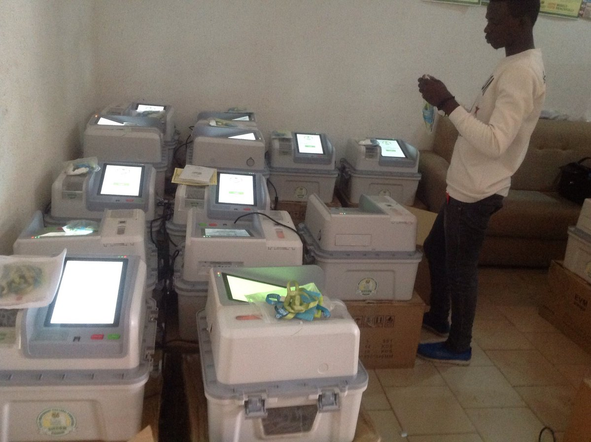 Image result for electronic voting machine in nigeria election