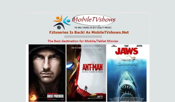 sites for downloading movie on mobile