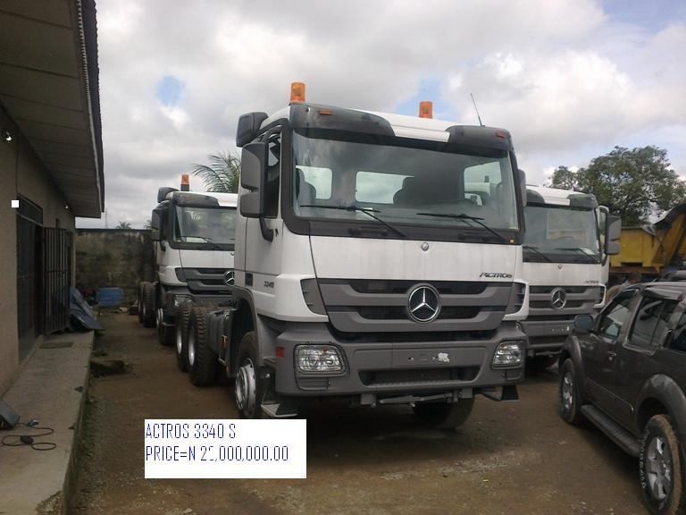 Volvos For Sale >> Brand New Mercedes Truck Head And Tippers For Sale - Autos ...