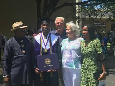 Nigerian Man bags 5 awards as he graduates from a US University