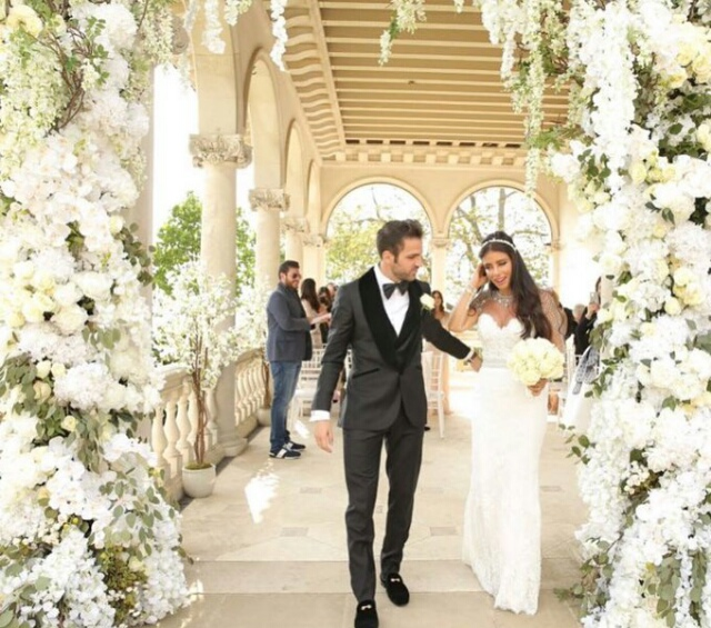 Cesc Fabregas Wedding Photos