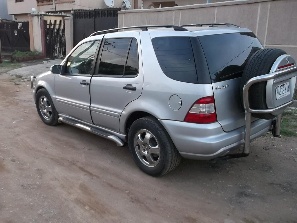 registered mercedes benz ml320 2003 n1 300 call