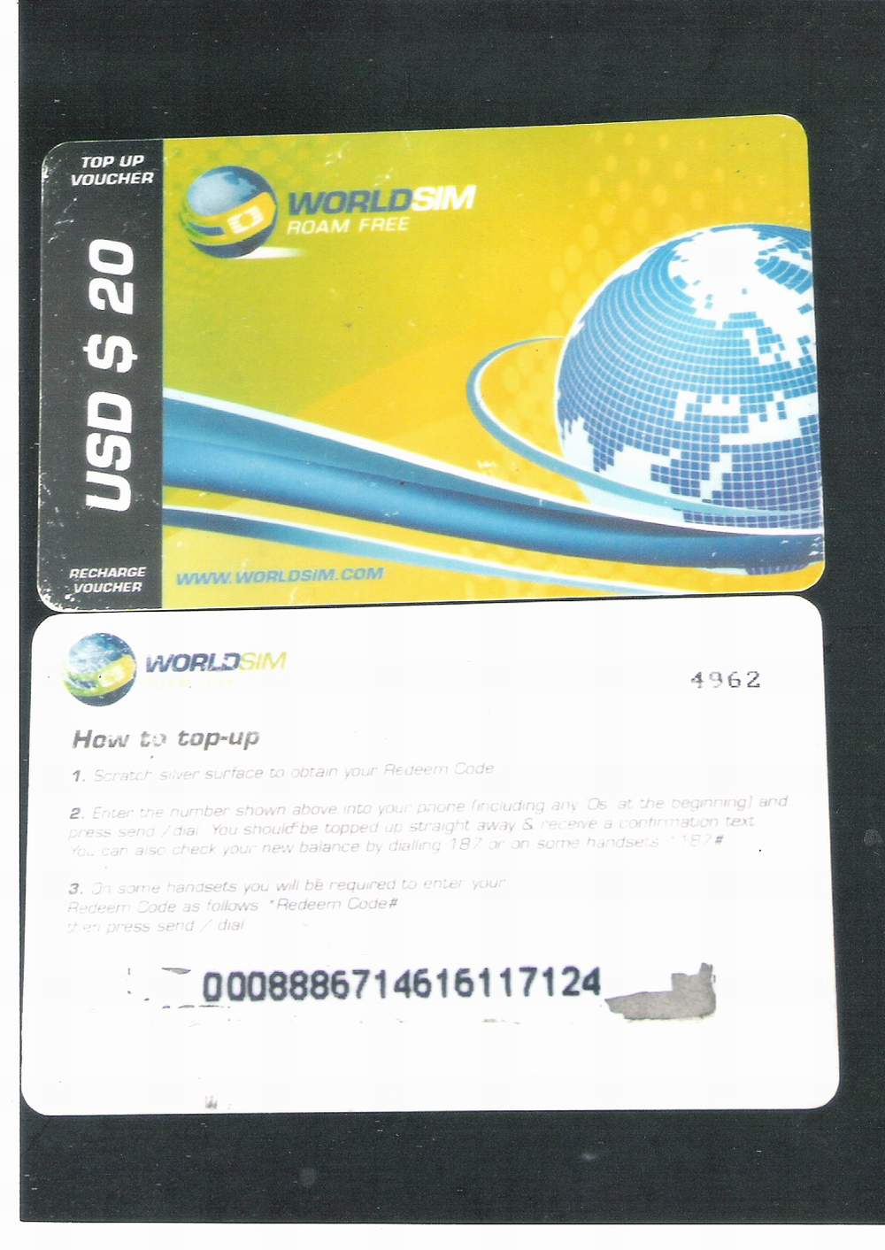 Buy Worldsim Topup Available Whole/retail Call 080-34489191