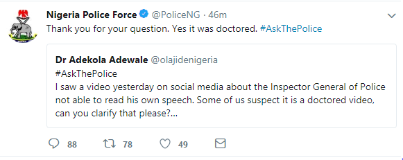 Nigeria Police Force Breaks Silence On The Viral 'Transmission' Video Of Police IG