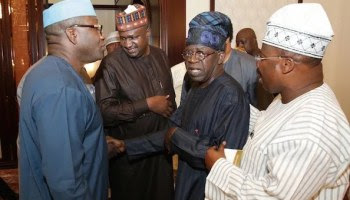 Battle For Ekiti State Begins, As Fayemi Meets Tinubu And Akande (Video)