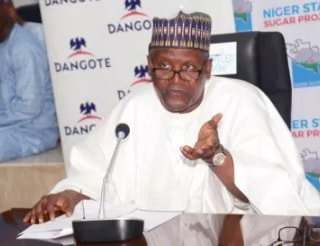 Dangote Donates N250 Million To 25,000 Muslim Women In Minna Niger State