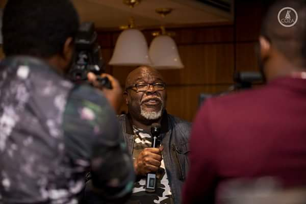 Bishop T. D. Jakes Arrives Nigeria For COZA Event. Pics With Biodun Fatoyinbo