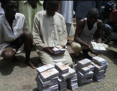 Police Burst Fake Currency Syndicate In Gombe, Uncover N22m Fake Notes (Pics)