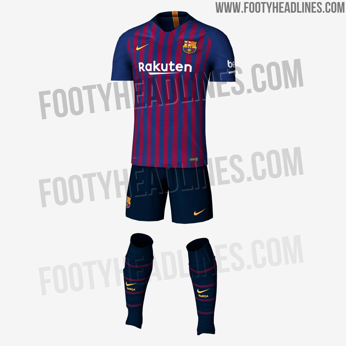 Fc Barcelona S New Jersey For Next Season 2019 Revealed Sports